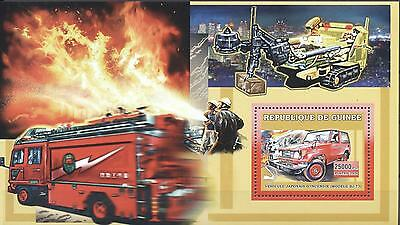 (223819) Firefighters, Fire Engines, Guinea