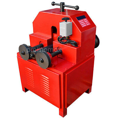 """110 Volt Electric Tube Pipe Bender Roller Round-5/8-3"""" Square-5/8-2"""" 1400 RPM"""