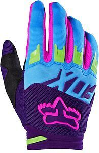 Fox Racing Dirtpaw Vicious Special Edition 2016 MX/Offroad Gloves Blue