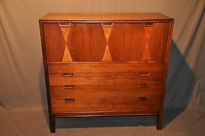 Mid Century Modern John Stuart Walnut High Chest