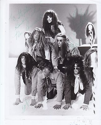 The Cowsills signed vintage 8 x 10 promo photo