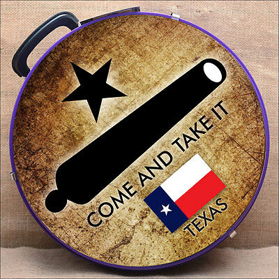 Come And Take It Texas Flag Medium Hilason Heavy Duty Abs Rope Can Horse Purple