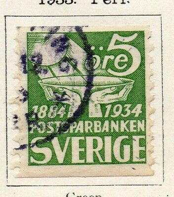 Sweden 1933Early Issue Fine Used 5ore. 127616