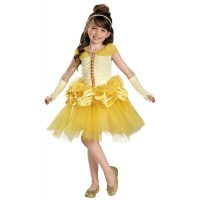 Belle Costume Kids & Toddler Disney Princess Beauty and The Beast Halloween