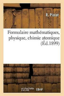Formulaire math by PIALAT-R (French) Paperback Book Free Shipping!
