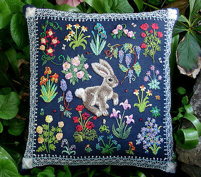 10% Off The Tapis-Tree Crewel/Needlework Kit - Hare in a Meadow
