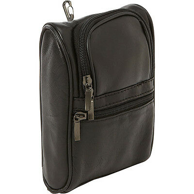 Bellino Leather Golf Pouch - Black Sports Accessorie NEW