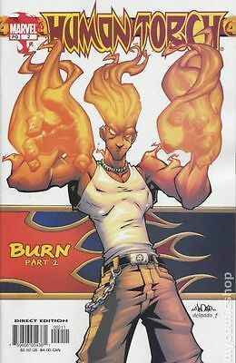 Human Torch (2003 2nd Series) #2 FN