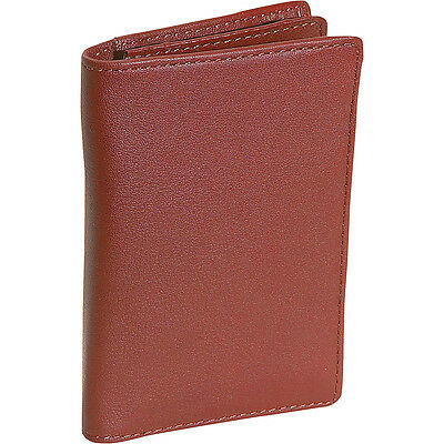 Royce Leather Deluxe Note Jotter Organizer - Tan Business Accessorie NEW