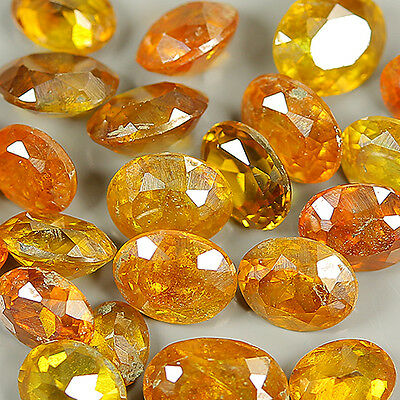 Comely 7.29 Cts Natural SPHALERITE Oval (22Pcs) Gemstone @ See Video !!