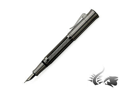 Graf von Faber-Castell Pen of the Year 2017  Vikings, PVD, Fountain Pen, M