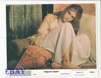Brooke Shields Pretty Baby Vintage Color Card