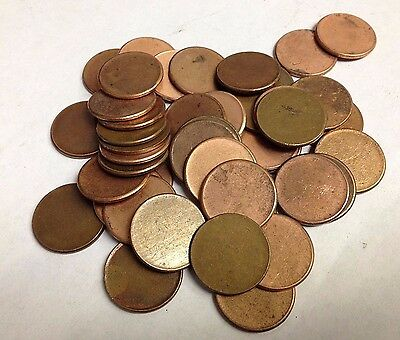 US Lincoln One Cent Mint Error Blank Penny Planchet (Multiple Available)