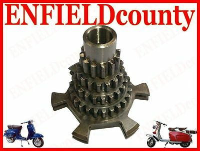 Gear Cluster/ Auxiliary Shaft 12-16-20-25 For Vespa Scooter @cad