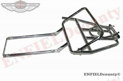 Rear Luggage Rack Carrier Chrome Plated Vespa Px Pe T5 Scooter @cad