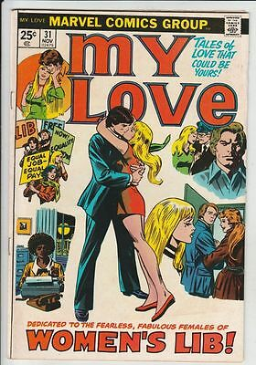 My Love #31 strict  FN/VF+  7.5  High-Grade   Many more books up for grabs