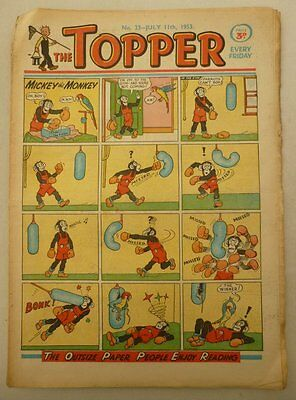 Topper comic #23 - 11 Jul 1953 Good-/Good (phil-comics)