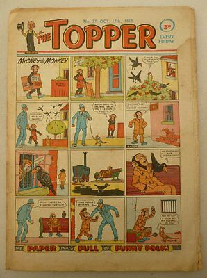 Topper comic #37 - 17 Oct 1953 Good- (phil-comics)