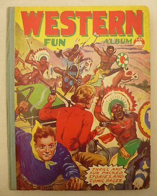 Western Fun Album c1950 (Comic Annual) Gerald G Swan VG/VG+ (phil-comics)