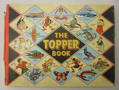 Topper Book 1958 Good (phil-comics)