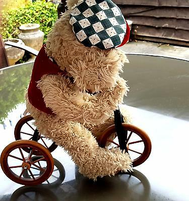 Bear On Bike Special Collectors  Edition -  Vintage  Real Cute Good Condition