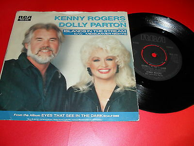 Kenny Rogers & Dolly Parton - Island In The Stream / Midsummer Nights P/s