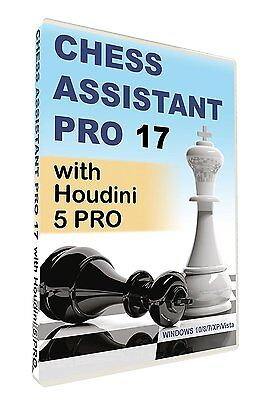 Chess Assistant 17 PRO with Houdini 5 PRO