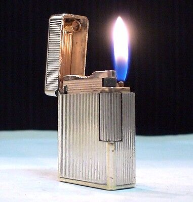 BRIQUET Ancien * ST DUPONT Ligne 1 - BS - Jubile * LIGHTER FEUERZEUG ACCENDINO