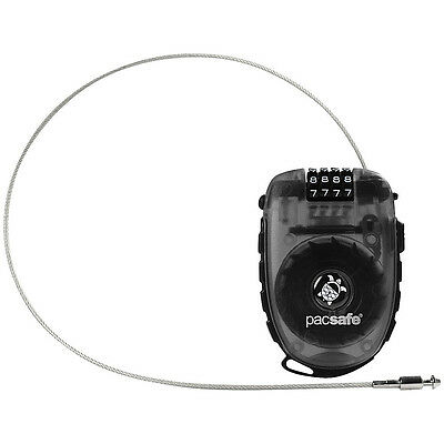 Pacsafe Retractasafe 250 Anti-Theft 4-Dial Retractable Luggage Accessorie NEW