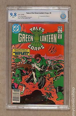 Tales of the Green Lantern Corps (1981) #2 CBCS 9.8