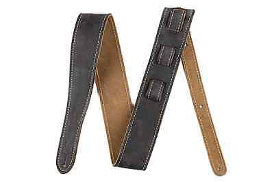 Fender Road Worn Guitar Strap. Black & Brown Available
