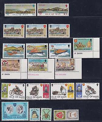 Great Britain-Isle of Man Mint Stamps MNH/MLH