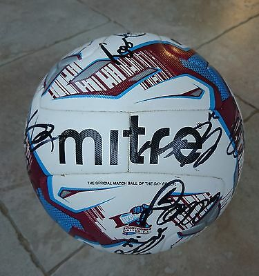 2016/17 Scunthorpe United Fc - Multi-Signed Official Match Football