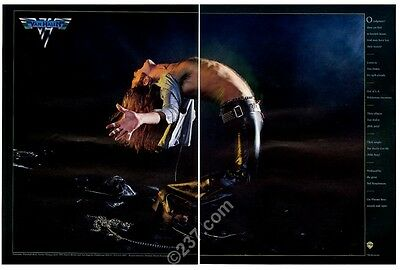 1978 Van Halen David Lee Roth photo You Really Got Me record release trade ad