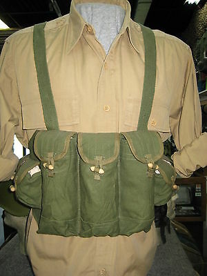 Chinese Vietnam Era Nva Vc Viet Cong Type 56 Chest Rig Pouch Webbing