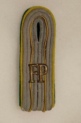WW2 German FP Feld Post Single Shoulder Board Officers