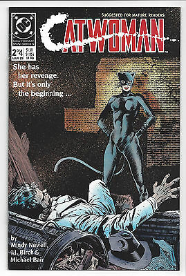 1989 DC Comics Catwoman Miniseries #2 NM for Mature Readers