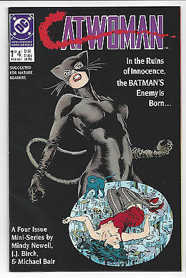 1989 DC Comics Catwoman Miniseries #1 NM for Mature Readers