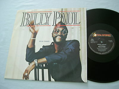 """BILLY PAUL Sexual Therapy 185 UK 12"""" vinyl single"""