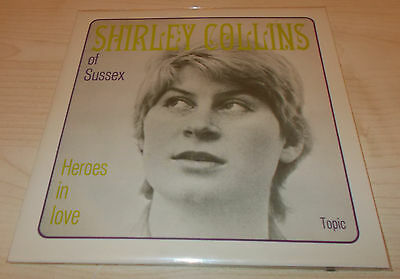 "Shirley Collins-Heroes In Love-Uk 2014 Vinyl 7"" Ep-Ltd 500 Only-New & Sealed"