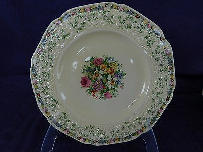 Crown Ducal Florentine Ferncroft LUNCHEON PLATE