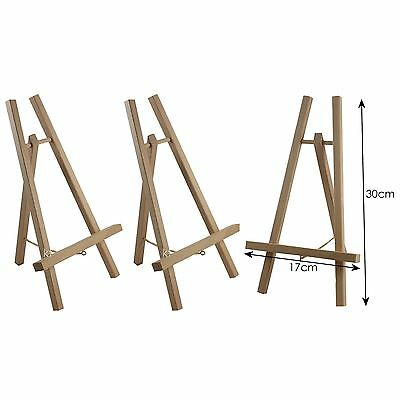 3 x Loxley Cheshire Easel Wooden Small Display Painting show stand