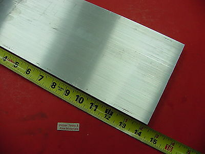 "1//2/"" X 4/"" ALUMINUM 6061 T6511 FLAT BAR 6/"" long Solid Extruded Mill Stock .50/"""