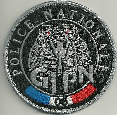 FRANKREICH POLICE NATIONALE GIPN Groupe Intervention  BAC SWAT Polizei Patch #06