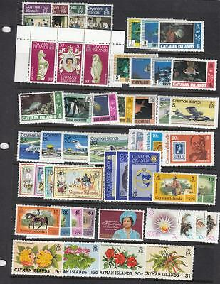 Cayman Islands Mnh Collection Various Issues