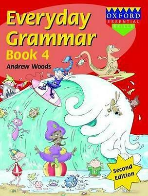 NEW Everyday Grammar Book 4 By Andrew Woods Paperback Free Shipping