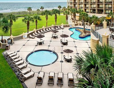 Myrtle Beach Sc Oceanfront Resort~3 Nites~Lazy Rivers~$50 Visa ~Add'l Nites