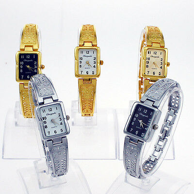 Mixed Color 10P Vintage Hollow Butterfly Band Lady Women Wristwatch O35M10