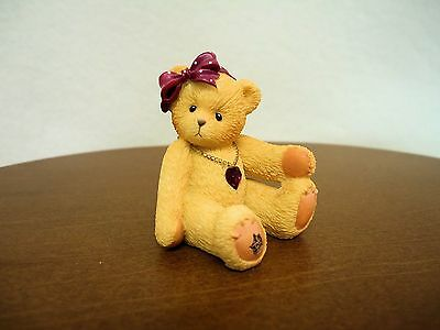 Cherished Teddies Little Sparkles January Bear 2003 NIB