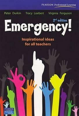NEW Emergency! By Peter Durkin Paperback Free Shipping